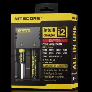Nitecore i2 Intelligent Battery Charger 2 Bay Port
