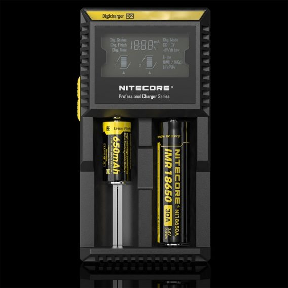 Nitecore D2 2-Slot unit bat 600