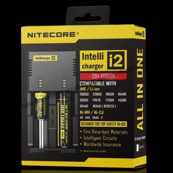 Nitecore i2 Intelligent Battery Charger 600