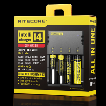 Nitecore i4 Intelligent Battery Charger 4 Port 700