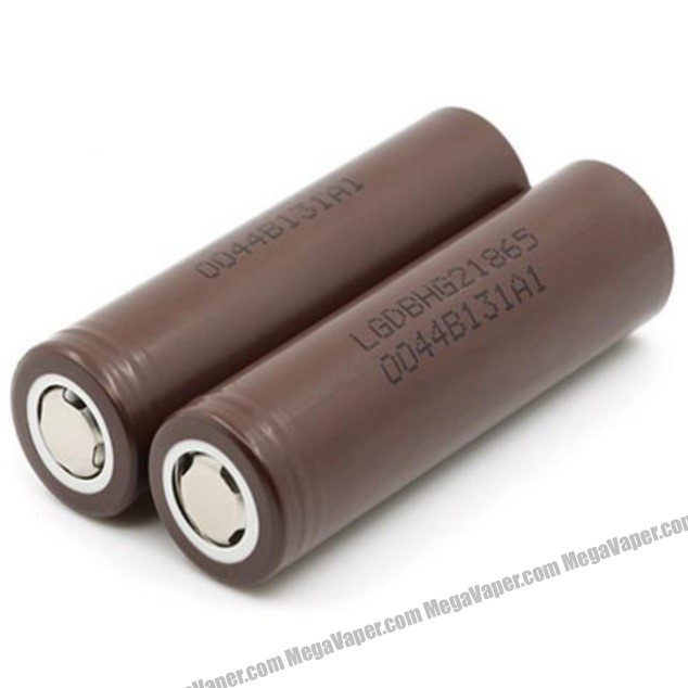 LG INR HG2 18650 Battery 20A 3000mah side