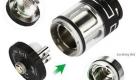 OBS Engine NANO RTA Rebuildable Tank Atomizer pieces