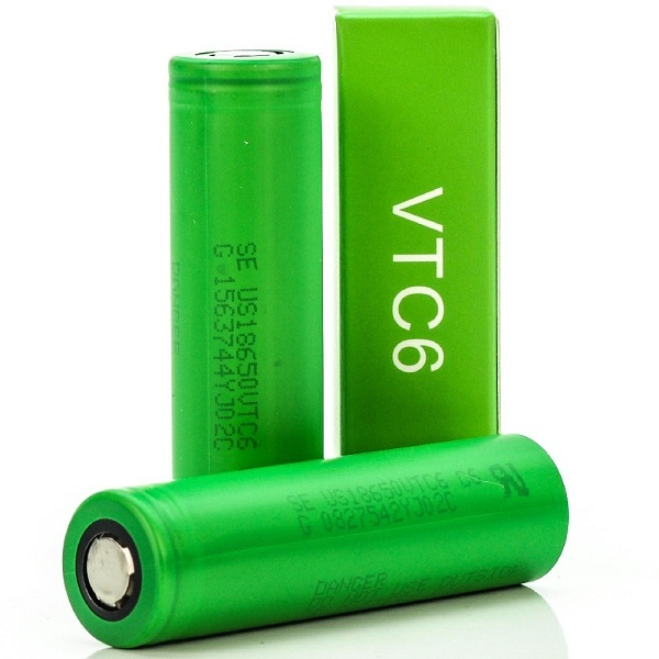 Sony VTC6 18650 Battery 3000mAh 3.6V 30A US18650VTC6 600