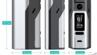 Wismec Reuleaux RX 2 3 150W 200W TC VW APV Box Mod dimension