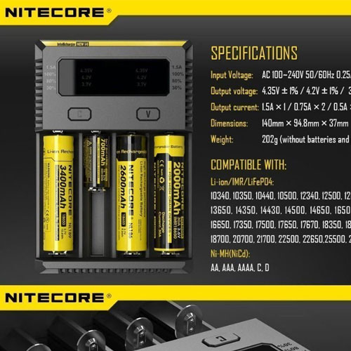 Nitecore-i4-Intelligent-Battery-Charger-4-Port-500h