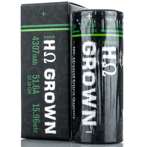 Hohm Tech Hohm Grown 26650 4307 mAh 32.3A Battery 676