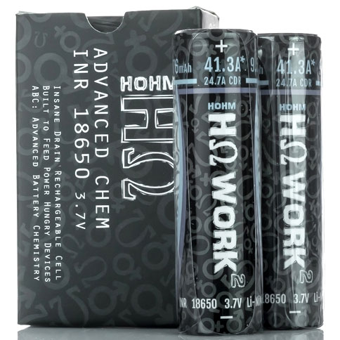 Hohm Tech Hohm Work 2 18650 2576 mAh 41A Battery