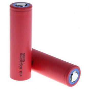 Sanyo NCR20700B 4000MaH 15A 20700 Flat Top Battery 676