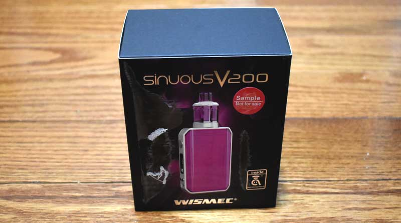 Wismec Sinuous V200 Starter Kit Review 800x450