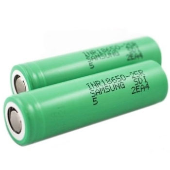 Samsung INR 25r Best 18650 Batteries for Vaping High Drain Sub Ohm 350