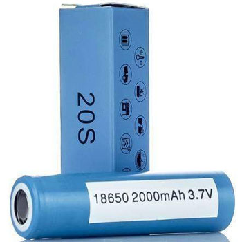 Samsung inr 20s Best 18650 Batteries for Vaping High Drain Sub Ohm 350