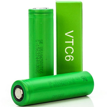 sony vtc6 Best 18650 Batteries for Vaping High Drain Sub Ohm 350