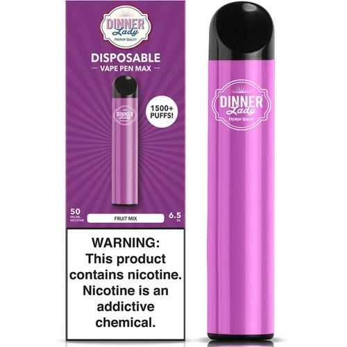 Dinner Lady Vape Pen Max Disposable Pod 1500 Puffs-500x500