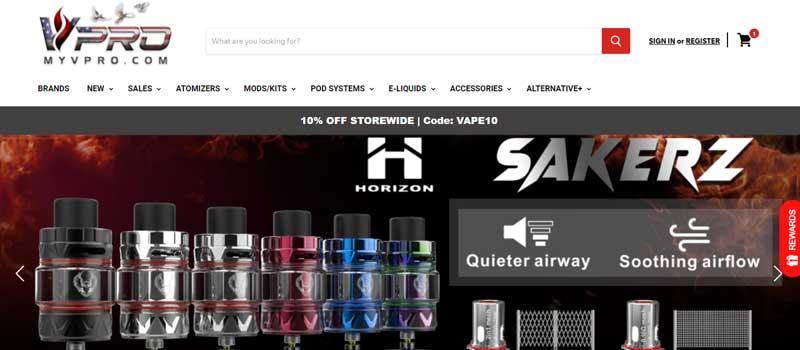 MyVpro U.S. Online vape store 800x420