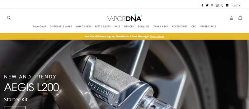 VaporDNA Online vape shop in USA 800x420